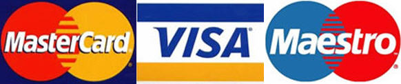 ArCa, Visa, MasterCard, Maestro